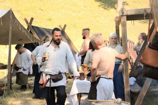 Gargždų piliakalnyje apsigyveno kuršiai