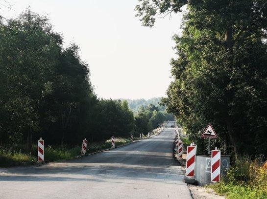 Kelyje Klaipėda – Radailiai – Kretinga tiesiamas asfaltas