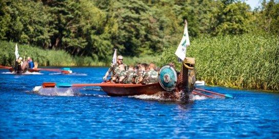 """Šventosios seniūnija kviečia dalyvauti """"Vikingų"""" laivų lenktynėse!"""