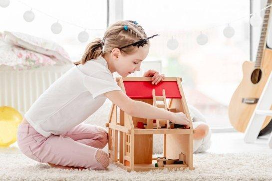 Lėlių namas – ypatingai vaikiškai vaizduotei puoselėti