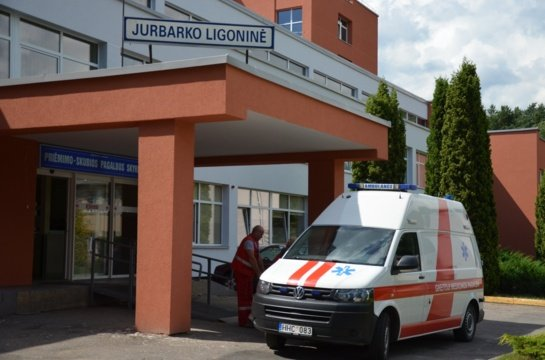 """Jurbarko ligoninėje uždarytas """"kovidinis"""" skyrius"""
