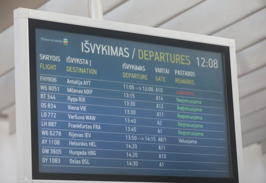 SAM: izoliuotis nereikės grįžus iš Danijos, Suomijos, Liuksemburgo, Maljorkos ir Reunjono