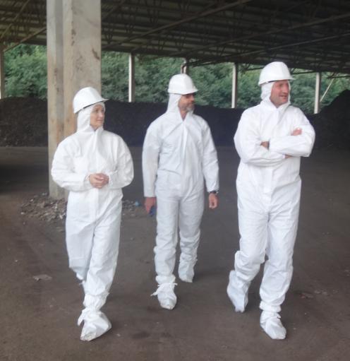 Nepavojingų atliekų sąvartyne lankėsi Šiaulių miesto vadovai