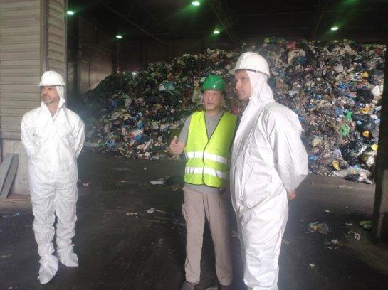 Seimo narys Kasparas Adomaitis aplankė Šiaulių regiono nepavojingų atliekų sąvartyną
