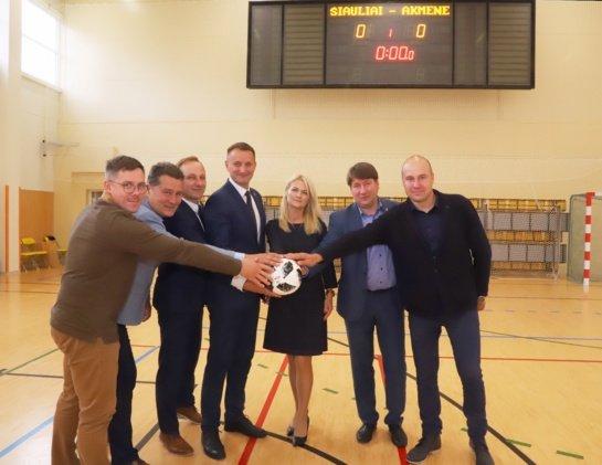 Pirmasis regioninis sporto projektas Šiaurės Lietuvoje