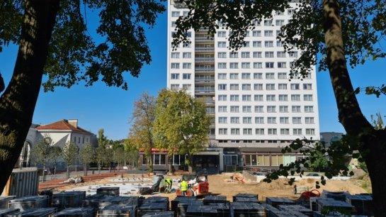 Milijoninio Šiaulių fontano statyba sustojo