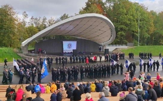Šiauliuose – ypač gausios šventiškai nusiteikusios policijos pajėgos