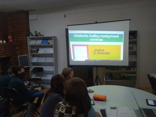 Europos kalbų diena paminėta Rėkyvos filiale: Edukacinių veiklų gidas