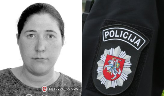 Policijos pareigūnai prašo visuomenės pagalbos – sostinėje dingo jauna moteris