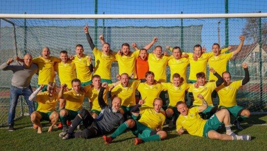 Anykščių futbolo komanda tapo čempione