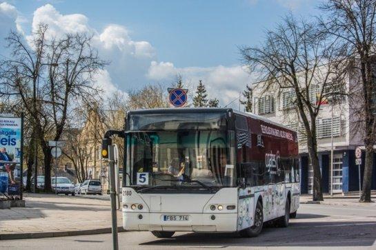 Nuo antradienio Panevėžyje keičiasi miesto autobusų eismas