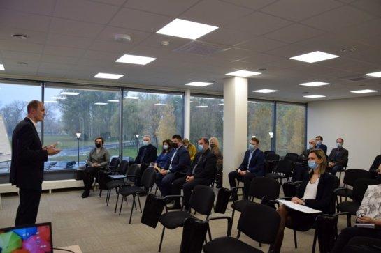 Apžvelgta Vilkaviškio rajono verslo situacija