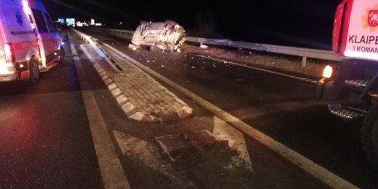 Praėjęs savaitgalis keliuose: žuvo 2 žmonės
