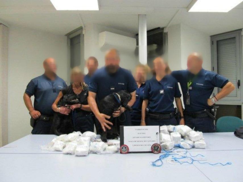 Lietuva ir Prancūzija likvidavo tarptautinę kontrabandininkų grupuotę (foto galerija)
