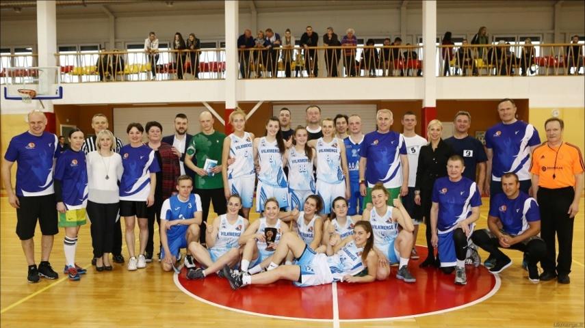 Ukmergėje – krepšinio fiesta