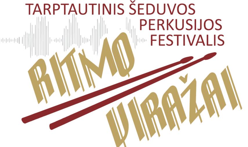"""Šeduvos perkusijos festivalis """"Ritmo viražai"""" startuos Vilniuje"""