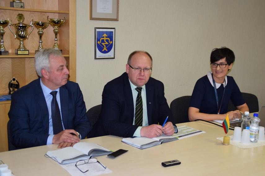 Mažeikių rajono savivaldybėje lankėsi ESO atstovai