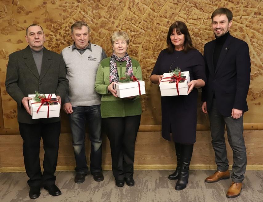 Padėkota eglutes dovanojusiems šiauliečiams