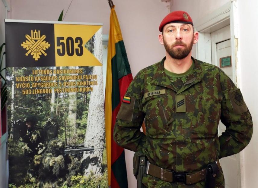 Dvidešimt metų Pasvalyje tarnaujantis karys savanoris dalyvavo misijose ir Kosove, ir Malyje