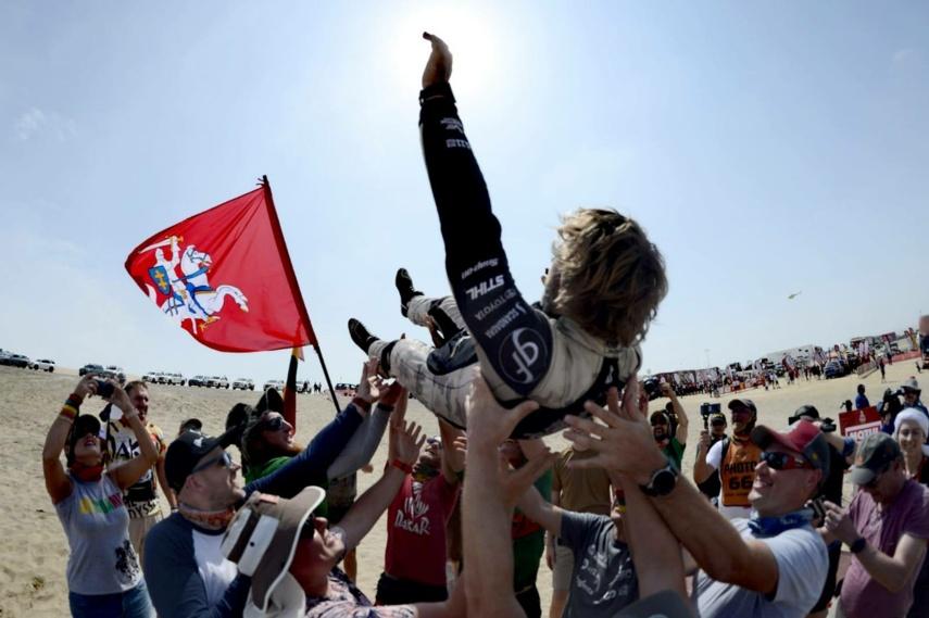 B. Vanagas su S. Rozwadowskiu Dakaro ralyje užėmė 11-ąją vietą