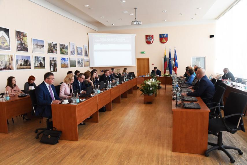 Sudaryti Tarybos komitetai