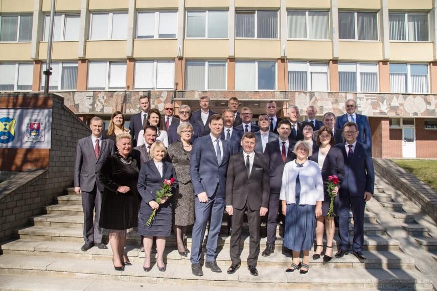 Vyko pirmasis naujosios Kėdainių rajono savivaldybės tarybos posėdis