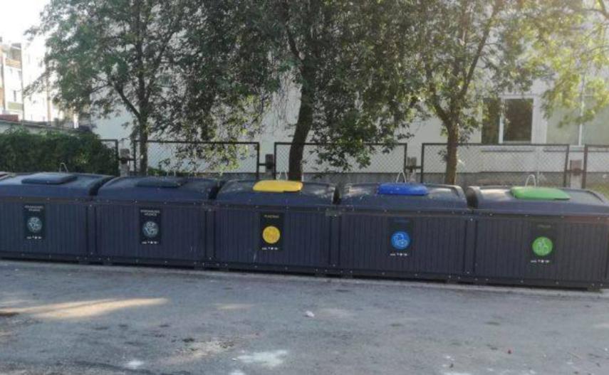 Kaip rūšiuoti atliekas naujuosiuose konteineriuose