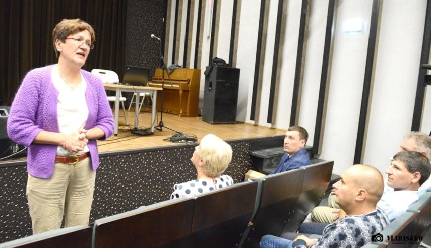 Rengiantis Baltarusijos atominės elektrinės veiklos pradžiai, Radiacinės saugos centras tęsia susitikimus su gyventojais