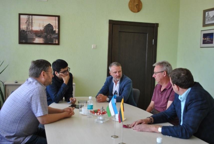 Svečias iš Uzbekistano domėjosi verslo plėtros galimybėmis