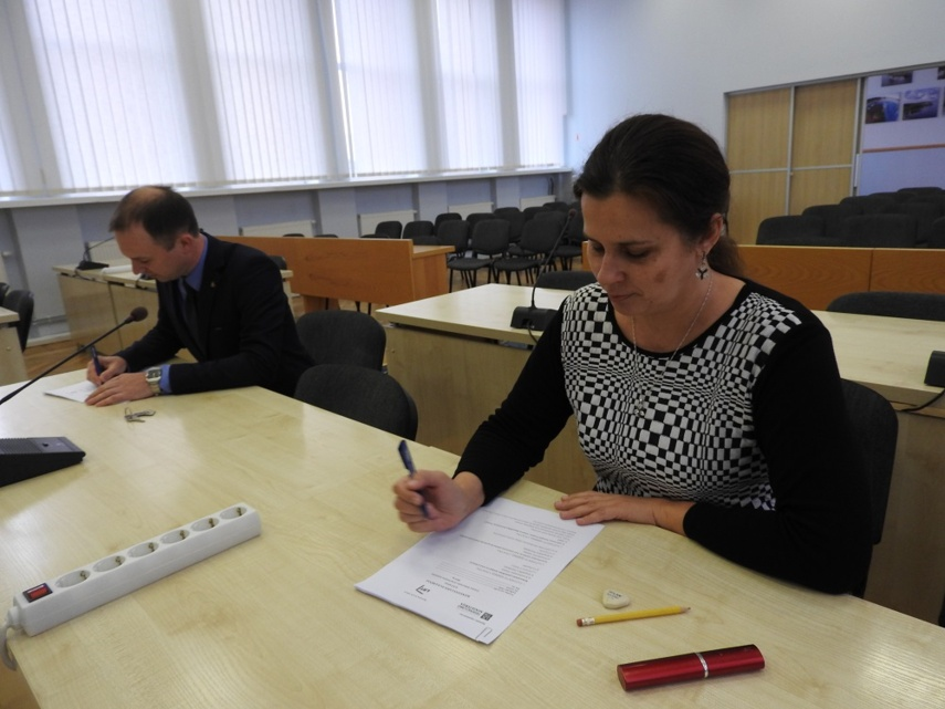 Konstitucijos egzamino II etapas ignaliniečiams buvo sėkmingas