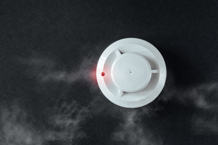 Name pradėję veikti autonominiai dūmų detektoriai išgelbėjo šeimą