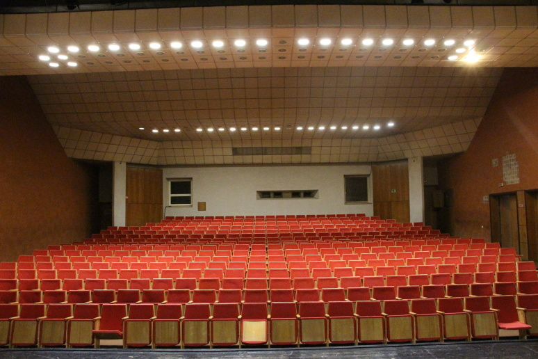 Pasvalio kultūros centro koncertų salė – pasiruošusi pokyčiams