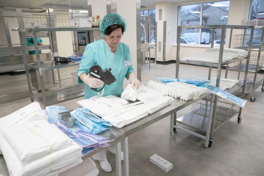 Vilniaus miesto klinikinėje ligoninėje atidaryta moderni sterilizacinė