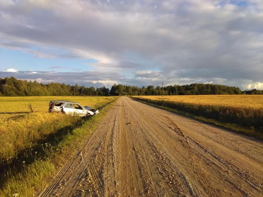 Policija prašo pagalbos ieškant eismo įvykio kaltininko