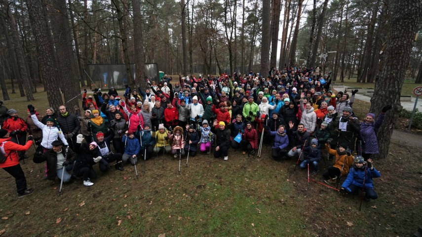 Druskininkuose – šiaurietiškojo ėjimo žiemos sezono atidarymas