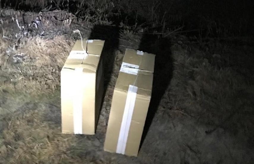 Pasieniečiai sulaikė baltarusiškų cigarečių kontrabandą