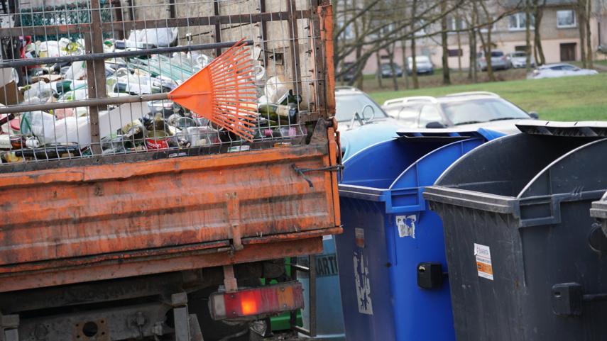 Skuodo rajone vykdomo pakuočių atliekų konteinerių dalinimo ir ženklinimo rezultatai