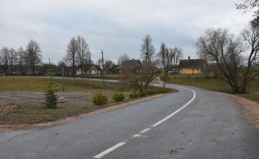 """Baigtas įgyvendinti projektas """"Varėnos r. Vazgirdonių kaimo Klevų gatvės įrengimas"""""""