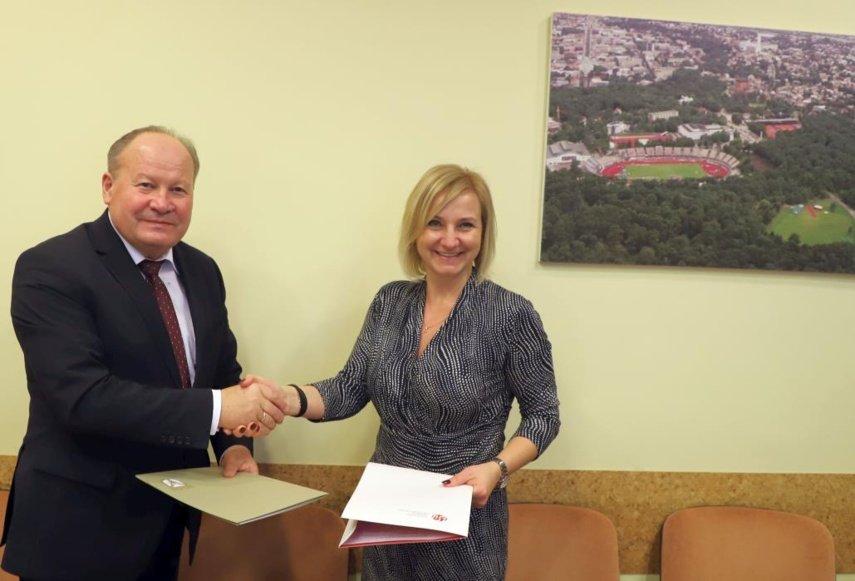 Sporto universitetas ir Kauno rajono savivaldybė įgyvendins bendrus projektus