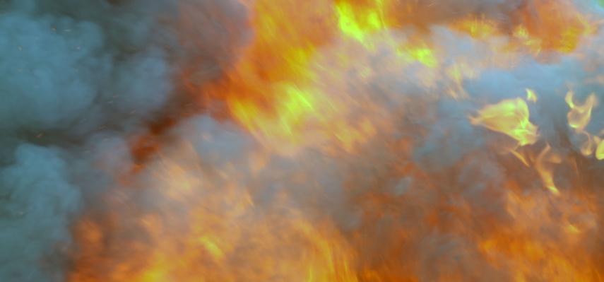 Telšiuose degė namas