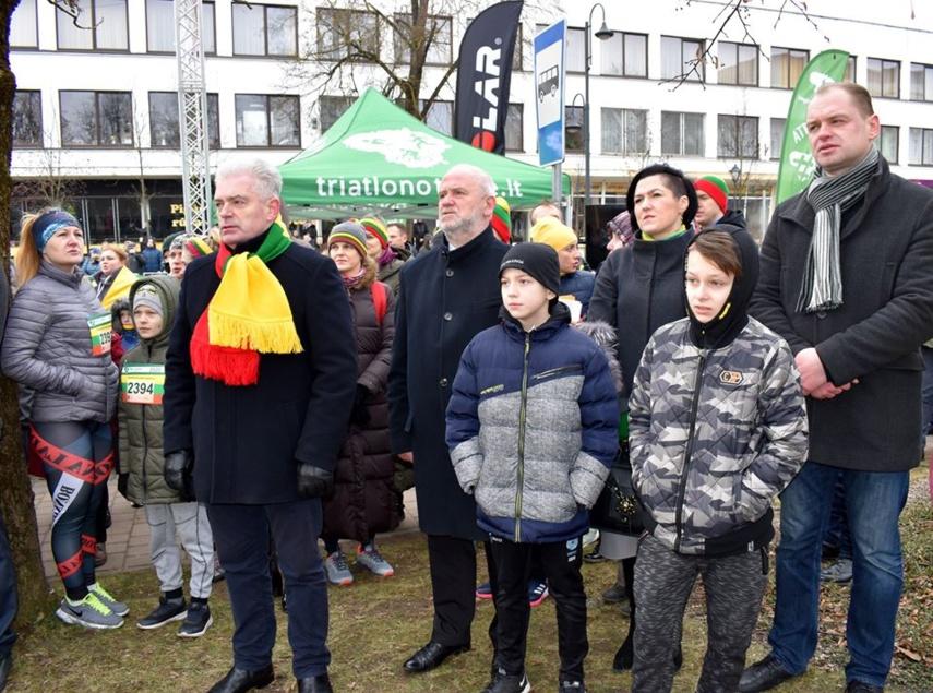 Mažeikiečiai atšventė Lietuvos valstybės atkūrimo dieną