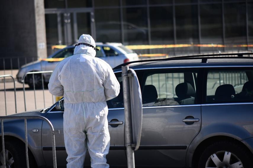Marijampolės meras dalinasi koronaviruso patikros punkte atliktais testų rezultatais