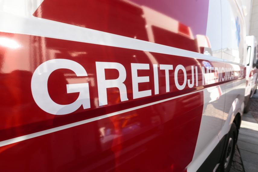 Panevėžio rajone susidūrė automobiliai: mažametis išvežtas į ligoninę
