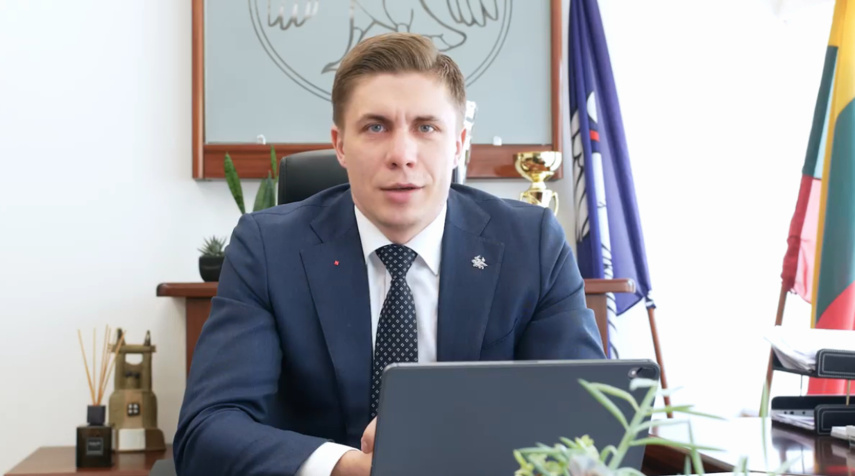 Socialdemokratas M. Sinkevičius nedalyvaus rinkimuose į Seimą, kad liktų Jonavos meru