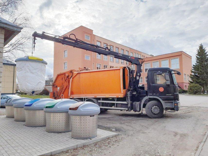 Už laiku neišvežtas atliekas skirtos baudos, į pagalbą pasitelktas kitas vežėjas