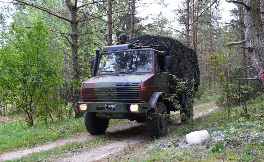 Raigardo miške vyks karinės pratybos