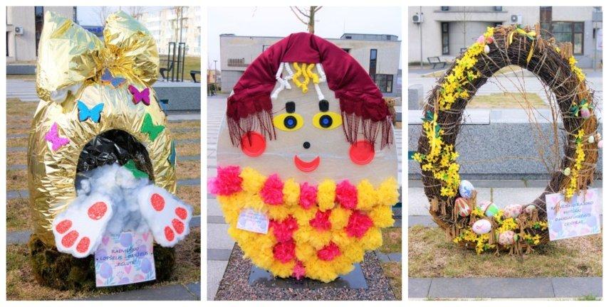 """Išrinkti Radviliškio miesto parodos-konkurso """"Velykinės dekoracijos"""" nugalėtojai"""
