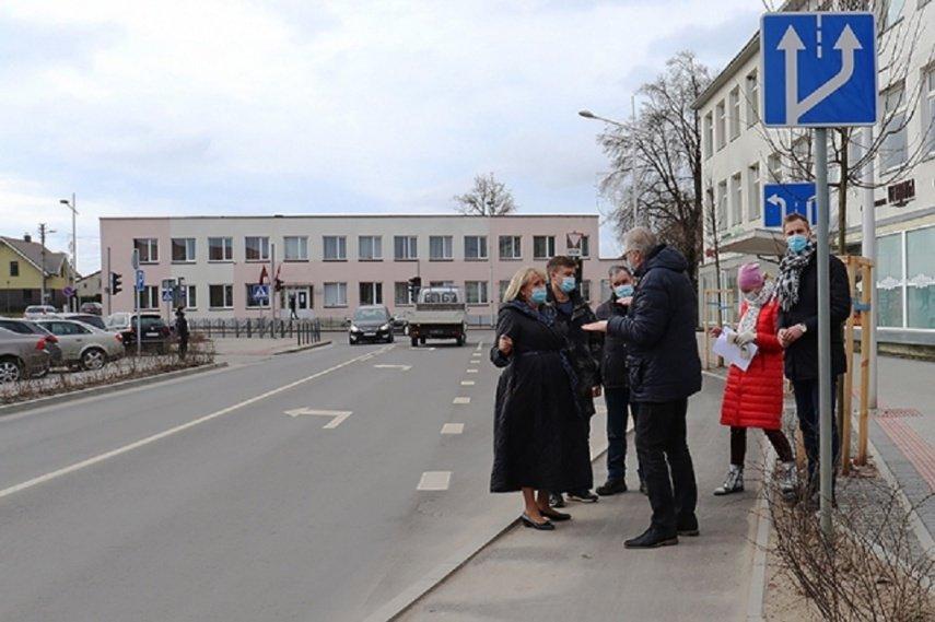 Kvietinių gatvėje bus tęsiami darbai
