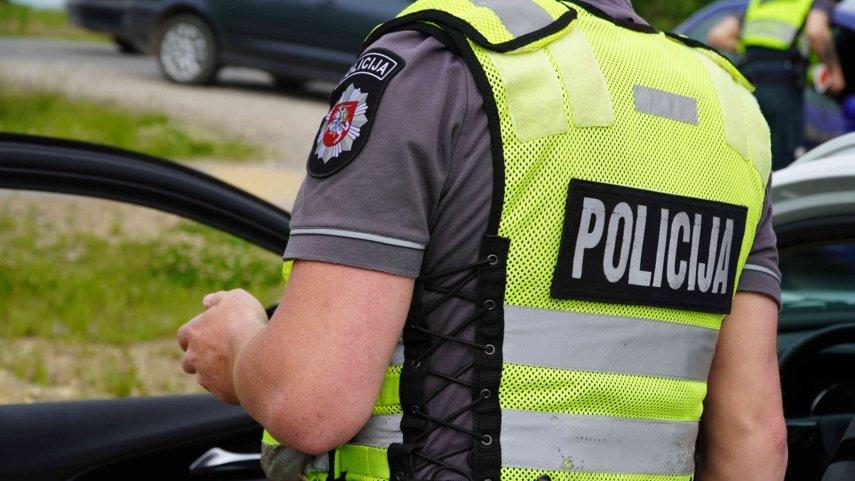 Dubingiuose sulaikytas neblaivus vairuotojas: įpūtė daugiau nei 3 promiles