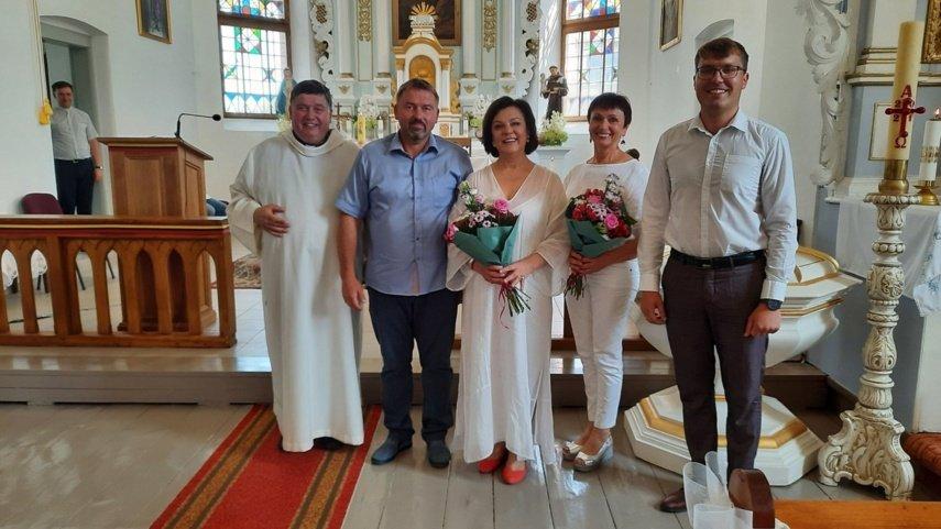 Šv. Marijos Magdalietės atlaidai – prasminga popietė kupina didingo restauruotų vargonų skambesio